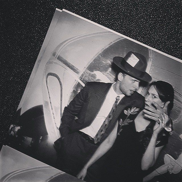 Pin for Later: Instagram Is Where You'll Find the Sweetest Snaps of Patrick J. Adams and Troian Bellisario