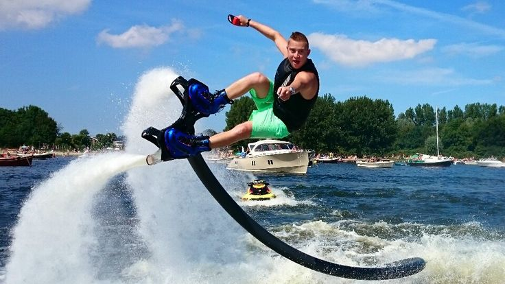 Bo Krook happy with the New Pro Flyboard: