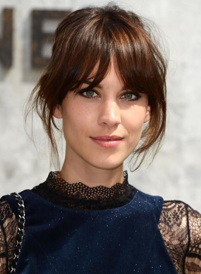 French Hairstyles 27 Best French Fringe Obsession Images On Pinterest  Best