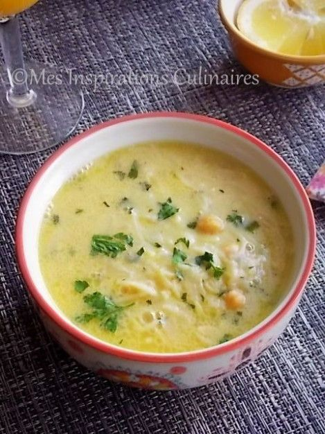 Soupe blanche algeroise {chorba beida}