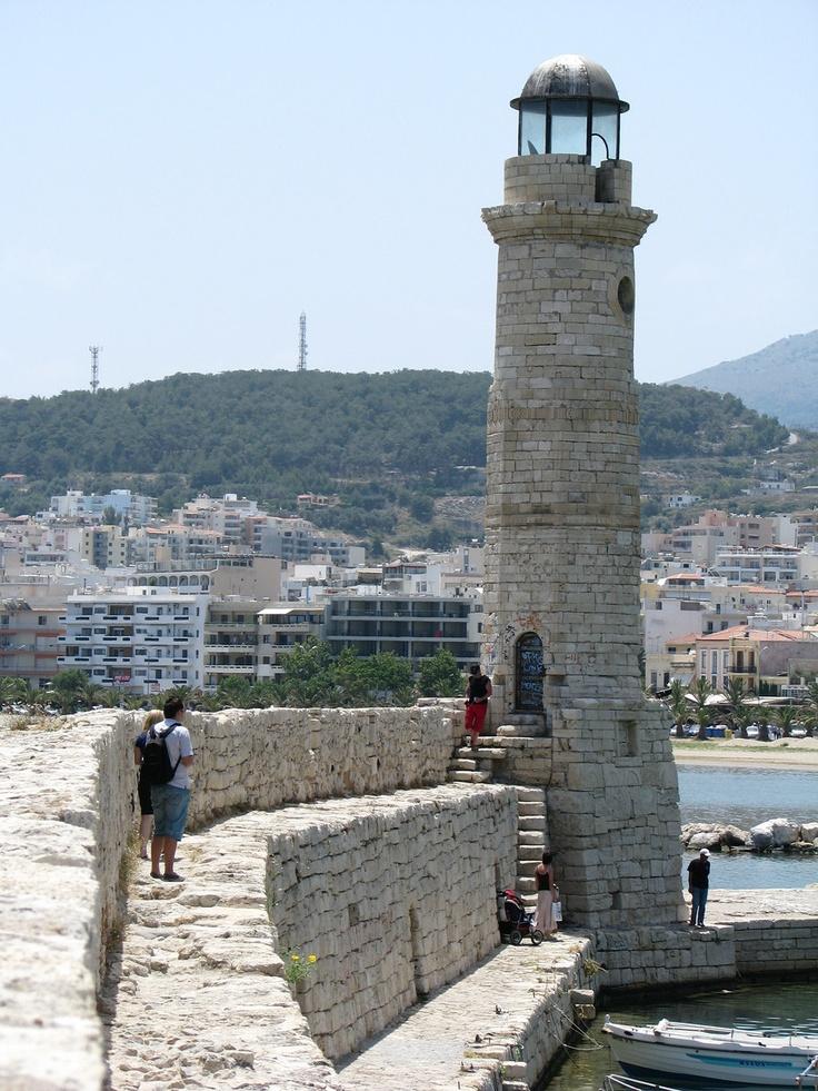 Lighthouse - Rethymno, Crete- Photo
