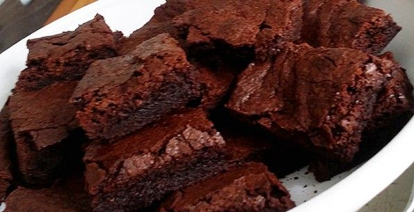 Recept: fudgy brownies