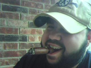 Saturday Morning Cigars bring a smile to even this face...