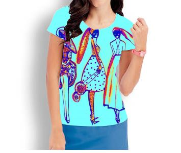 art by Erika Kovarikova  tshirt fashion print