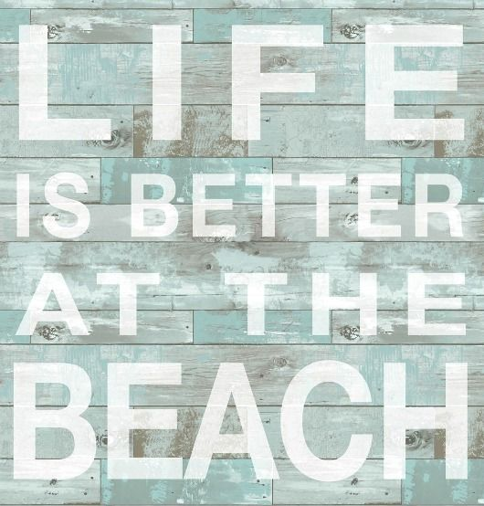 Best  Coastal Inspired Wall Stickers Ideas On Pinterest Home - Wall decals beach quotes