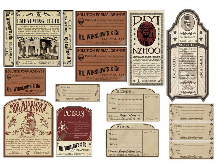 290 best Vintage Jar Labels images on Pinterest   Vintage labels ...
