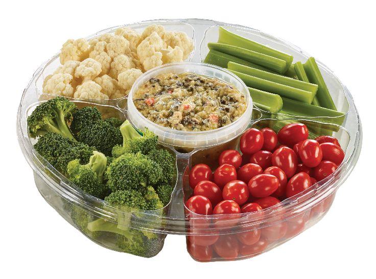 Yummy's Veggie Platter with Ranch Dip from #YummyMarket