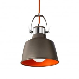 Urban Grey Pendant or Wall Vintage Light