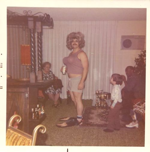 """Sadly , little Mervin walked in on Daddy's """"Anything Goes"""" party.....his future shrink will be very wealthy."""