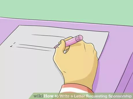 Image titled Write a Letter Requesting Sponsorship Step 2