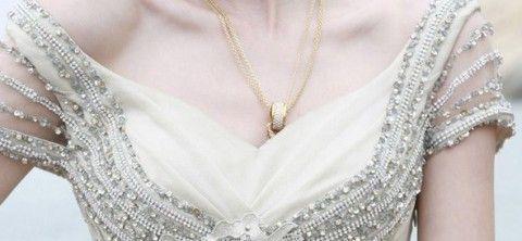 Gorset w sukni ślubnej...
