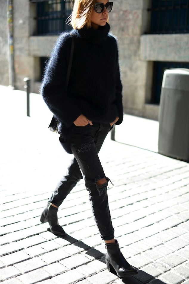 One thing I love about winter style is all the textures | le FASHION
