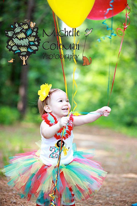 Girls Big Top SweetieTUTU  Birthday Circus Carnival Birthday Party Custom Made Baby thru 1 2 3 4 Year Girls