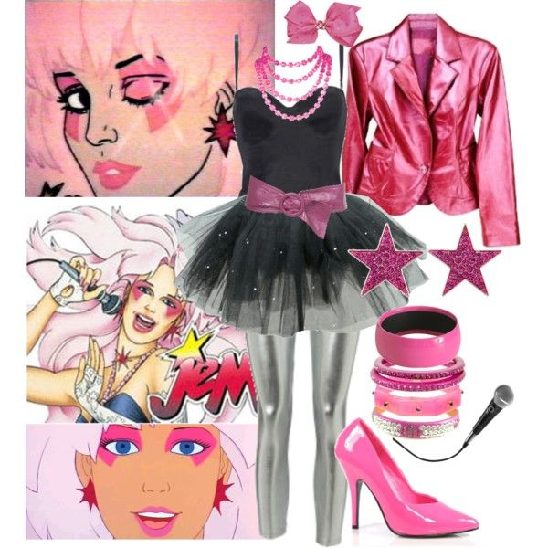 Jem costume...my favorite show growing up! This years Halloween costume♥