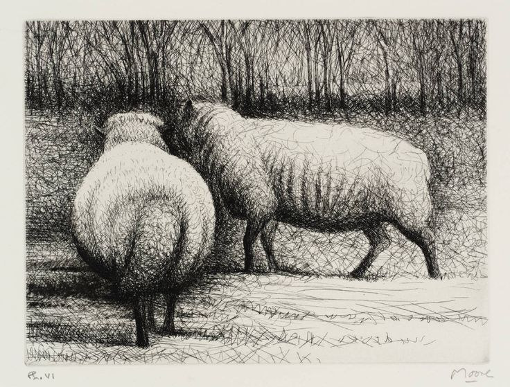 Henry Moore OM, CH 'Sheep', 1972 © The Henry Moore Foundation, All Rights Reserved, DACS 2014
