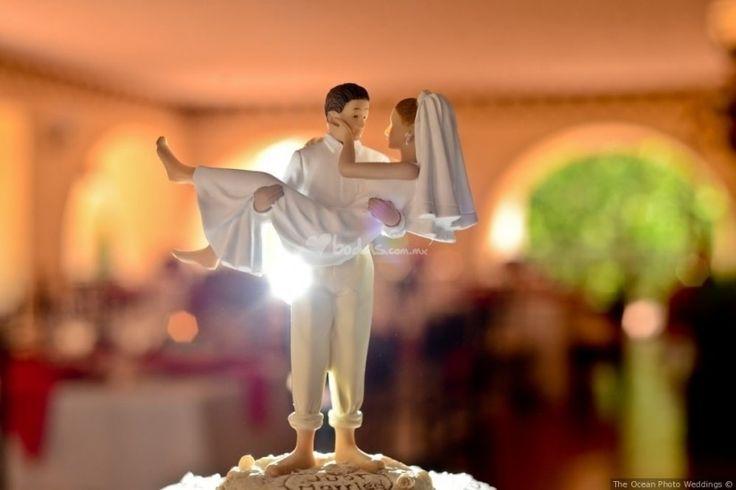 Los muñecos del pastel de boda - bodas.com.mx