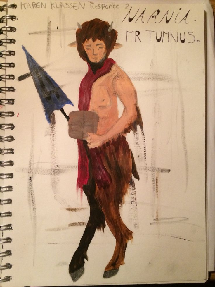 Mr Tumnus (The lion, the witch and the wardrobe)