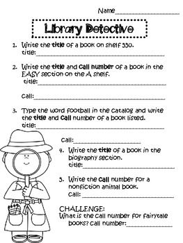 Free TPT scavenger hunt using OPAC and call numbers. 5 diff ones so they go to different places