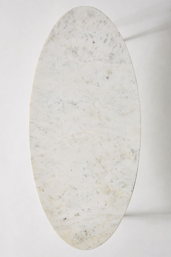 Leavenworth Oval Marble Coffee Table Oval Marble Coffee Table Marble Coffee Table Coffee Table Top View