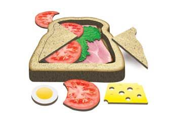 Tuzzles Sandwich Puzzle-4 Layer-15X15cm - Layered Puzzles