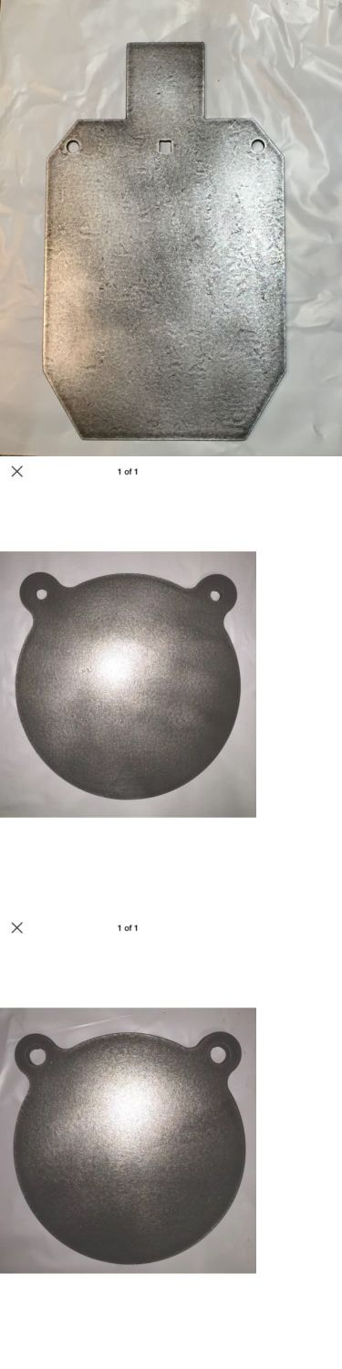 Targets 73978: Ar500 3/8 Steel Shooting Target Set 12 X 20 2/3 Idpa/Ipsc, 12 And 8 Gongs BUY IT NOW ONLY: $102.95