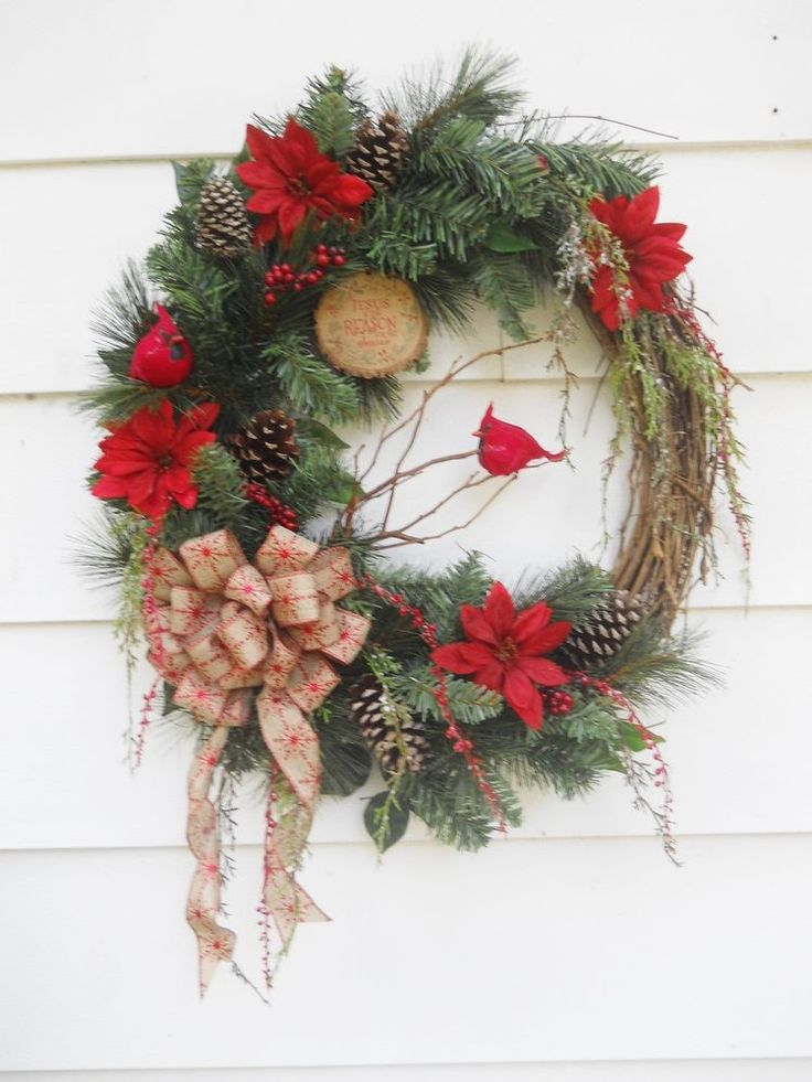 48 best images about christmas florals on pinterest christmas holidays winter flowers and - Best dried flower arrangements a colorful winter ...