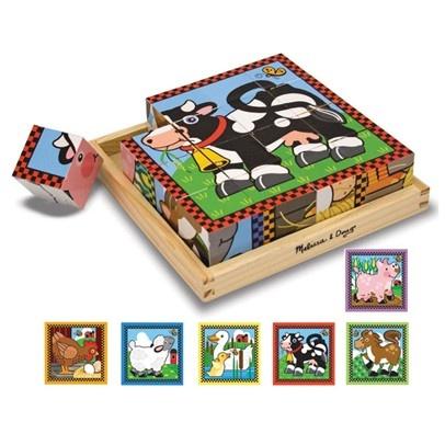 Farm cube puzzle (Melissa and Doug brand)