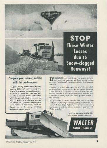 8 best tractors images on pinterest snow plow tractors for Walter motor truck company