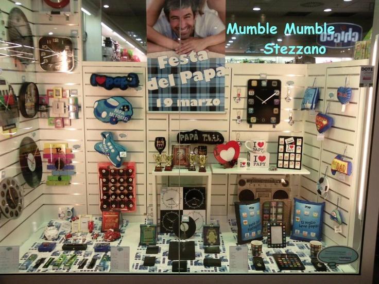 Vetrina #mumblemumble di Stezzano
