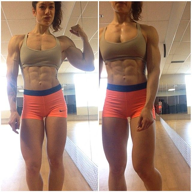 Natasha Aughey | Small girl big biceps | Pinterest