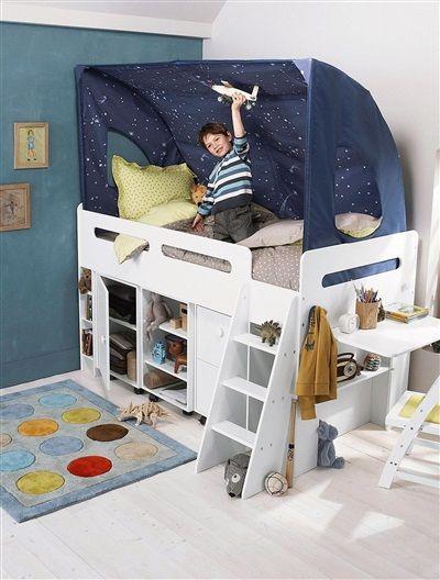 1000 id es sur le th me tente pour lits superpos s sur pinterest lits balda - Lit mezzanine vertbaudet ...