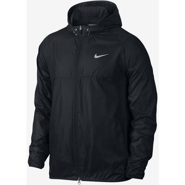 Nike Range Packable Men's Golf Jacket. Nike.com ($100) ❤ liked on Polyvore featuring men's fashion, men's clothing, men's outerwear, men's jackets, mens outerwear, mens jackets and nike mens jacket