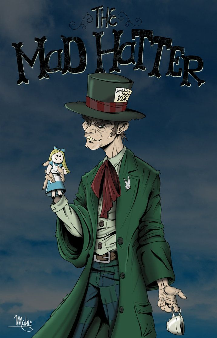 Mad Hatter by *MikeMahle on deviantART