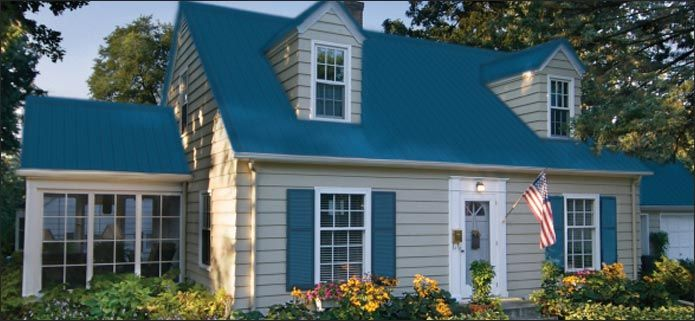 Best Residential Steel Roofing Gallery At Menards® House 400 x 300