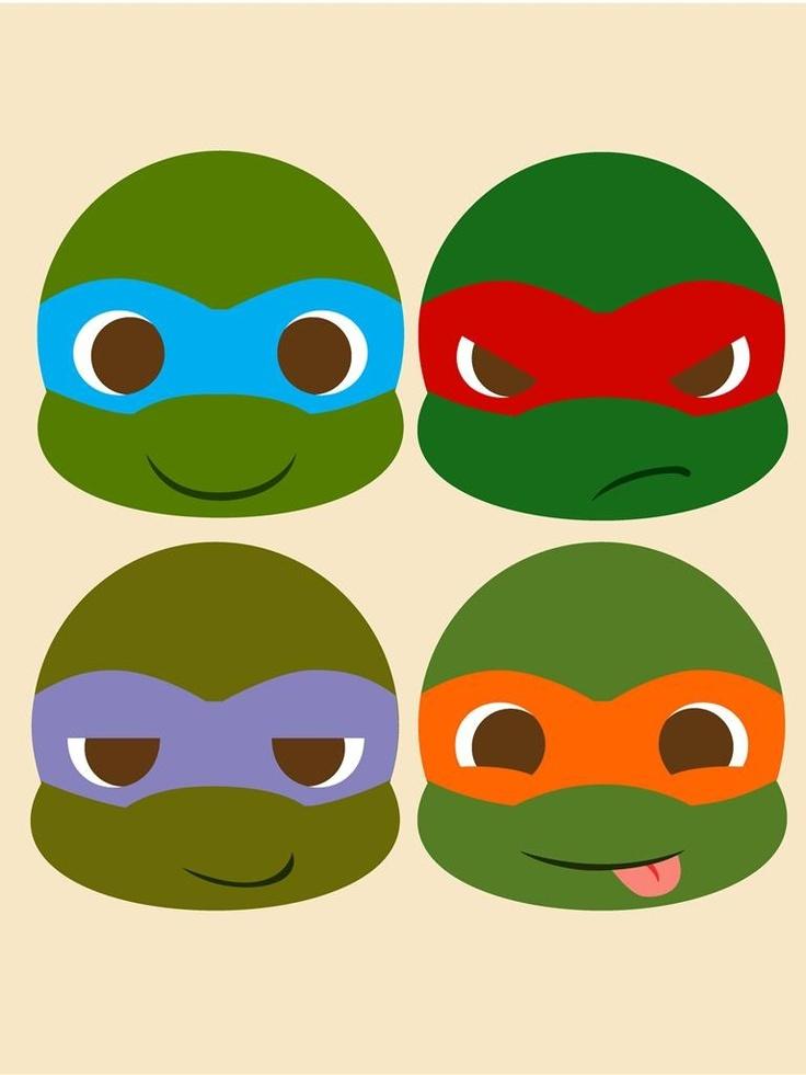 Ninga turtles heeee yaaaa