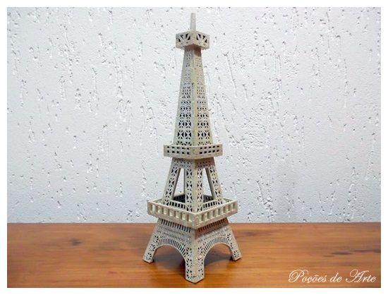 Lojinha Poções de Arte: Torre Eifel.