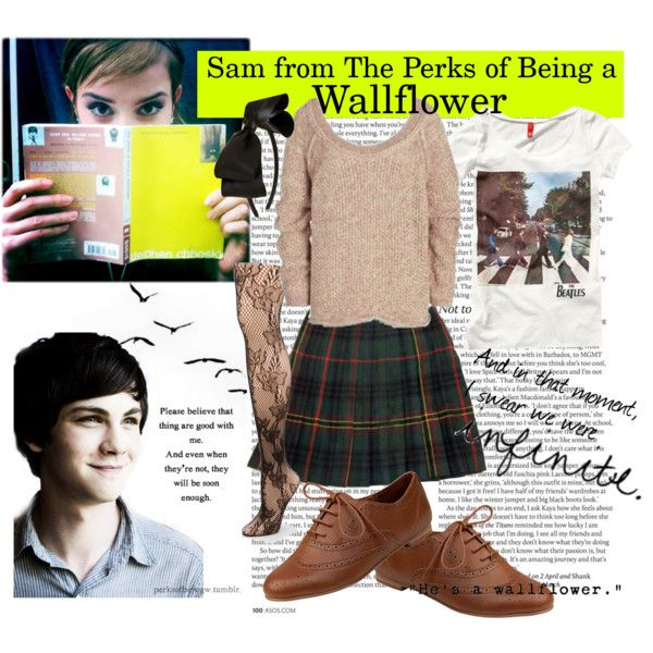 """""""Sam from The Perks of Being a Wallflower"""" by mssadiebell on Polyvore"""