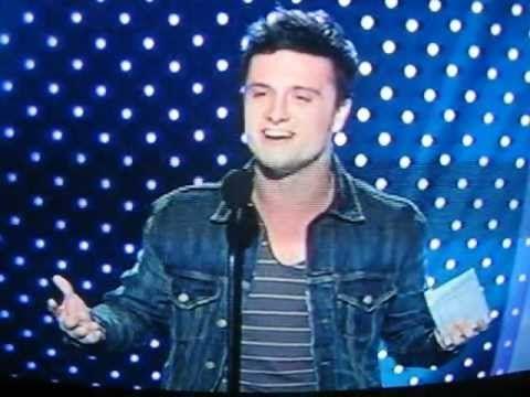 VIDEO: Josh Hutcherson Accepts Next Mega Star Award. In case you missed the NewNowNext Awards last night, here is a LQ video of Josh Hutcherson on stage accepting his award. This Next Mega Star Award marks Josh's first acceptance speech