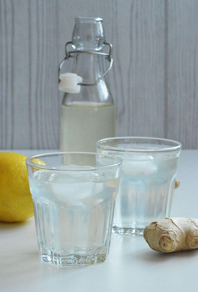 Citroen Gember Limonade - Heerlijk verfrissend! Vandaag vertel ik je precies hoe je deze heerlijke limonade thuis kunt klaar maken