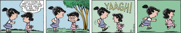 Peanuts Begins Comic Strip, August 27, 2016     on GoComics.com