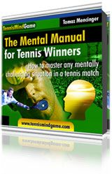Master your mind in the most difficult situations in a tennis match and start winning even against your toughest rivals!  Learn what goes through the mind of tennis winners and use their SECRETS to improve your tennis game.