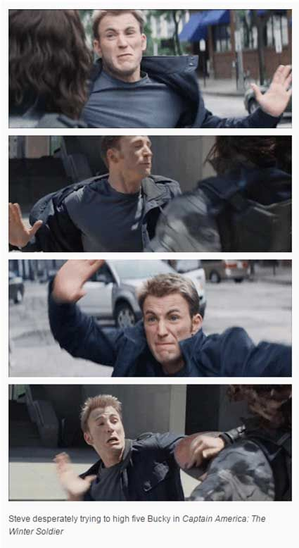 Funny Things Tumblr S Ever Said About The Avengers: Best 25+ High Five Ideas On Pinterest