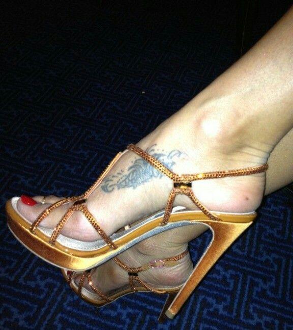Feet brooke burke