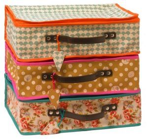 Lale suitcases-I want, even though I don't travel a lot, these would make me want to and have an excuse to!