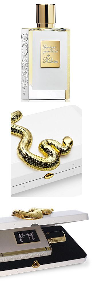 By Kilian's Good Girl Gone Bad is a composition of fruits and flowers, a perfume as bewitching as bursts of laughter, a barrier moved beyond, a forgotten prohibition. And it comes in this awesome snake box. #niche #perfume #luckyscent