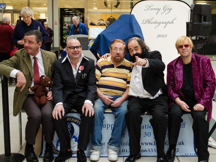 Rowan Atkinson, Harry Hill, Ricky Tomlinson, Pavarotti, Elton John, or are they ?????.