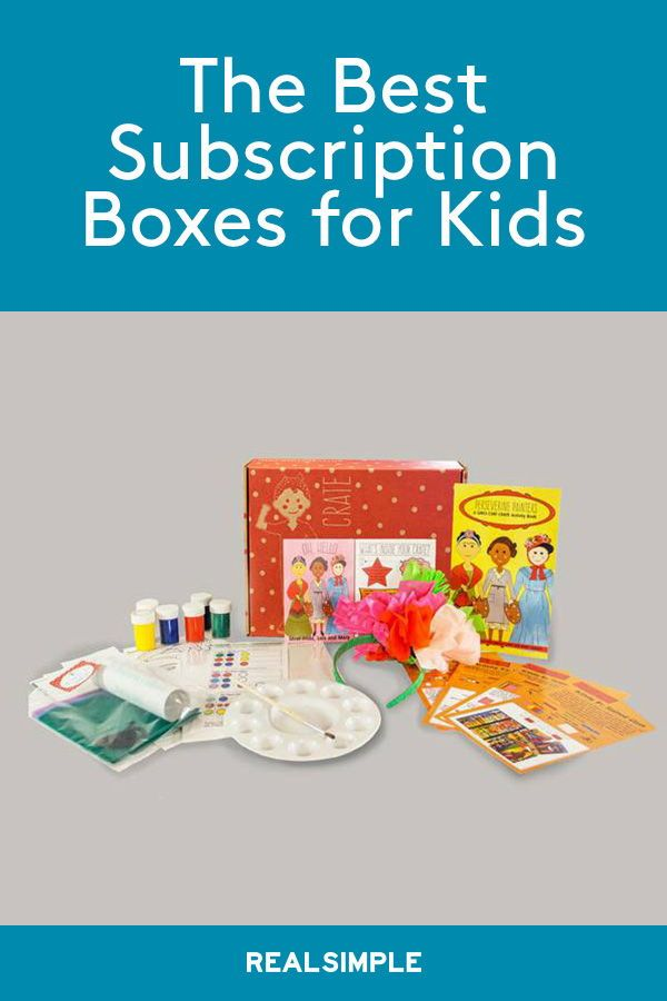 The Best Subscription Boxes for Kids | Gifts for Kids