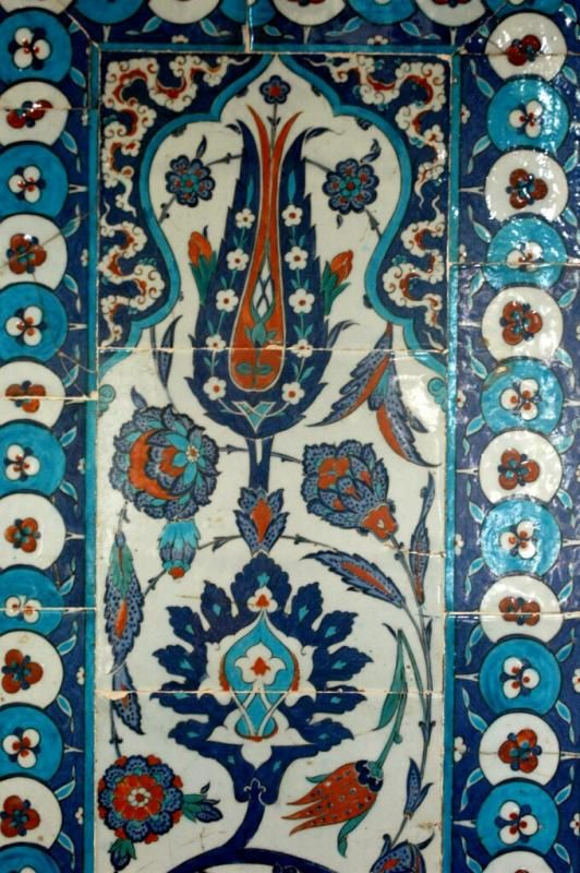 Rustem Pasha Mosque iznik tiles
