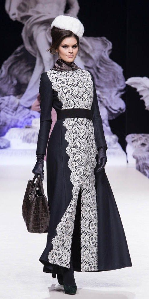 Russian style in fashion. Design by Igor Gulyaev (Moscow, Russia), 2014.