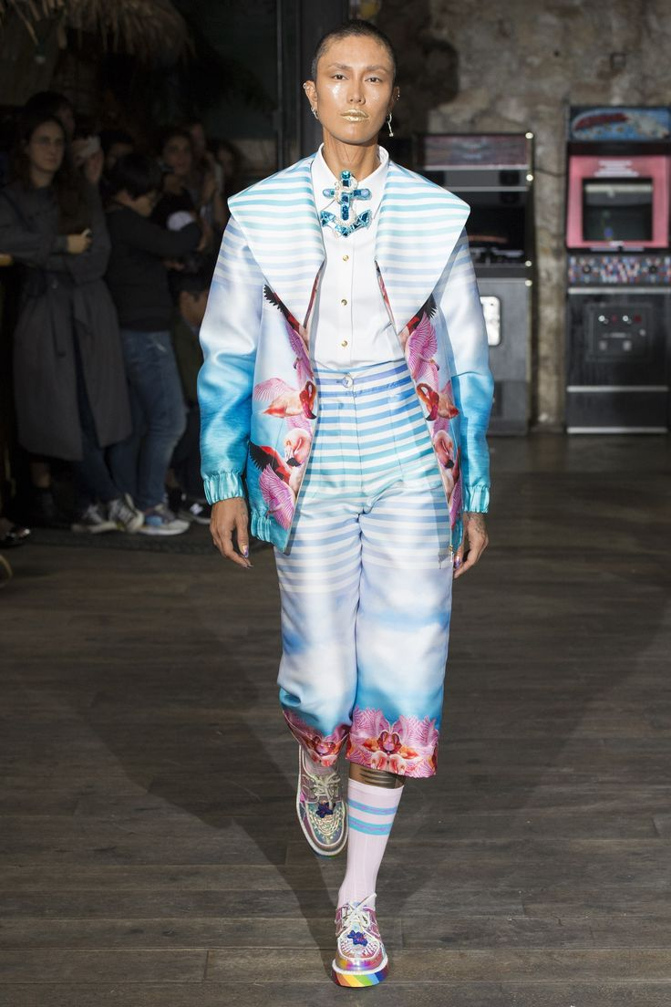 View the complete Manish Arora Spring 2017 collection from Paris Fashion Week.